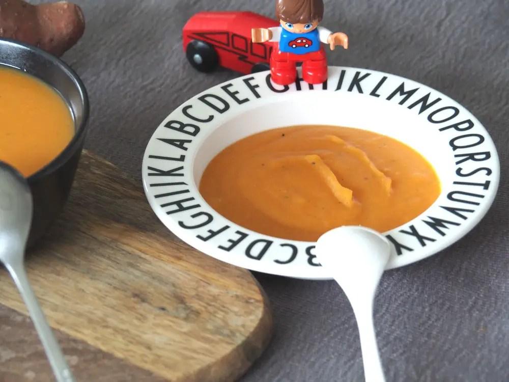Süsskartoffel suppe rezept kinder, familie, brei, süsskartoffelbrei, sweet potato soup, rezept, recipe