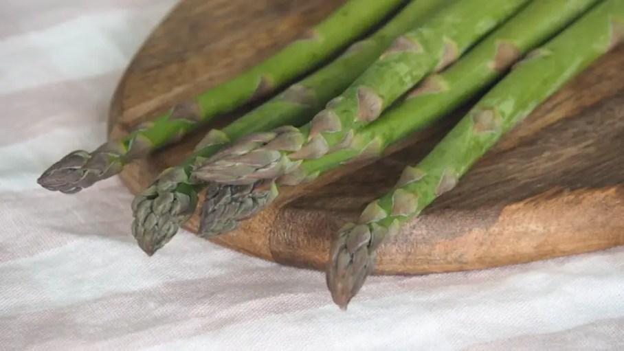 Grüne Spargeln rezept