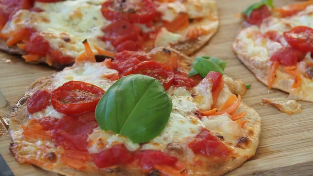 Blitzrezept Pizza mit Fajita, rezept, schnell, mamablog, foodblog, kinder, gemüse