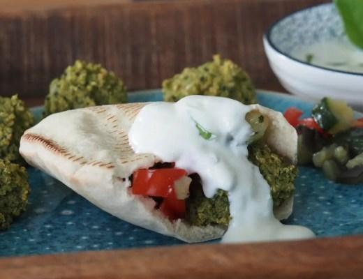 falafel aus dem Ofen rezept vegan, kinder, schwanger,
