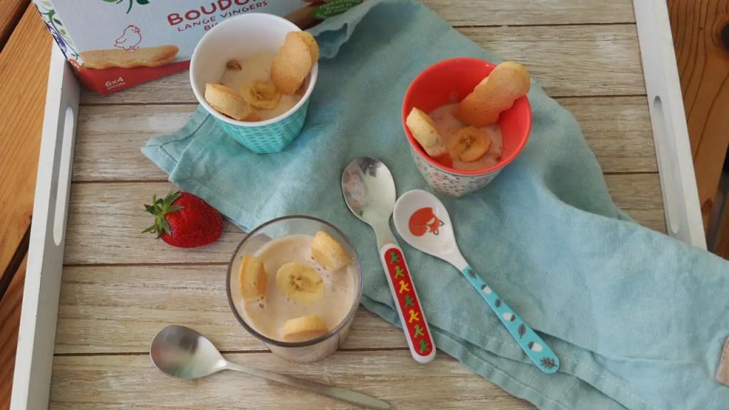 boudoir, Kinderrezept Erdbeer-Avocado Schichtdessert, kinder, kleinkind, familie, rezept, dessert, süsses, ohne zucker, banane, avocado