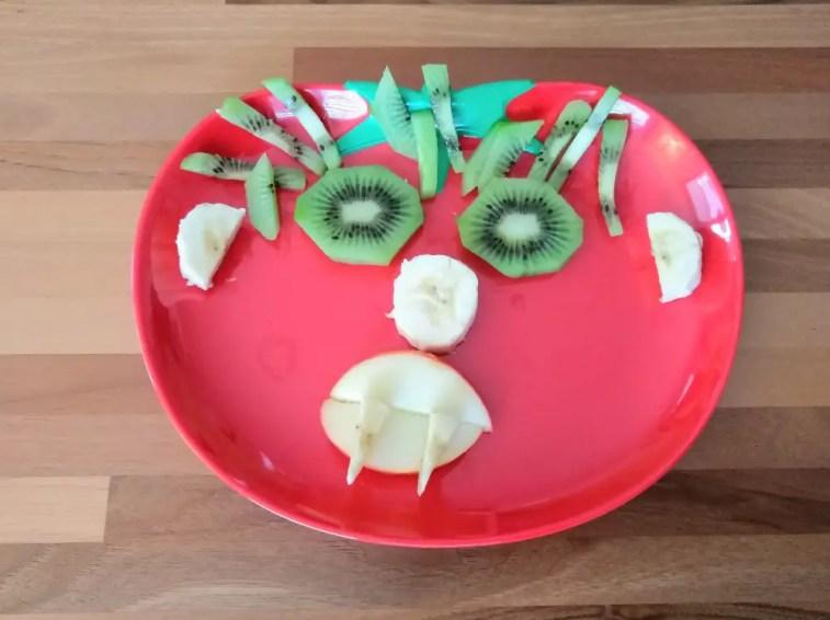 Kidsfood Kinderteller Monster
