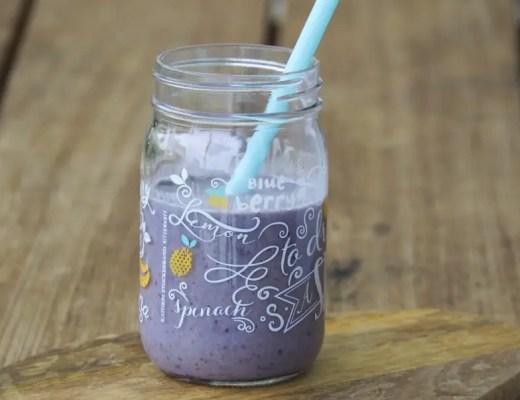 Blueberry Smoothie selbstgemacht, schwanger, rezept, kühlend, sommer, getränke, schwangerschaft