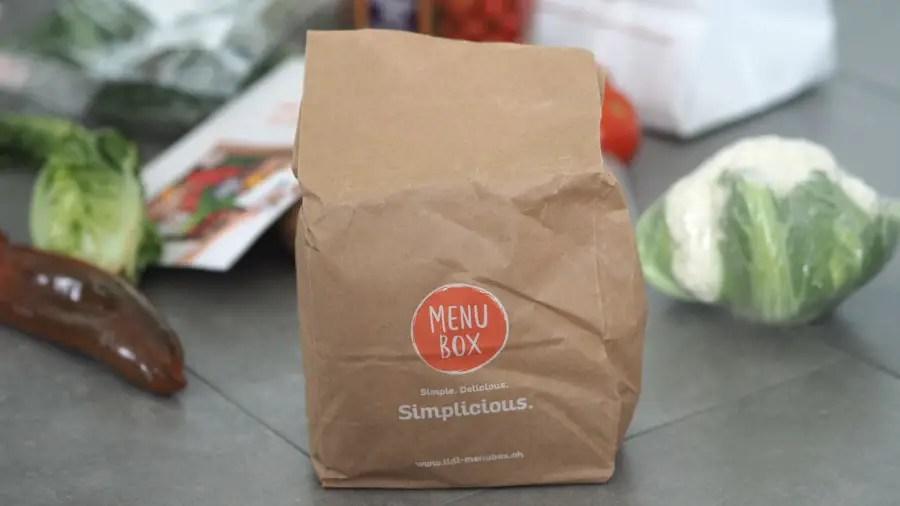 Lidl Menubox testbericht test kochbox online günstig foodblog schnell einfach kochen box