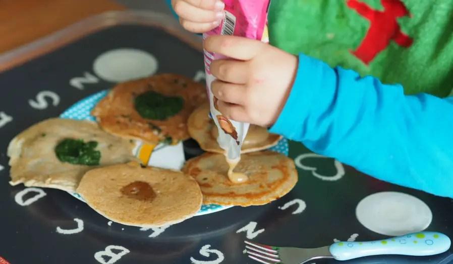 buchweizen blini pancakes rezept vegan kinder schnell apfelmus familie