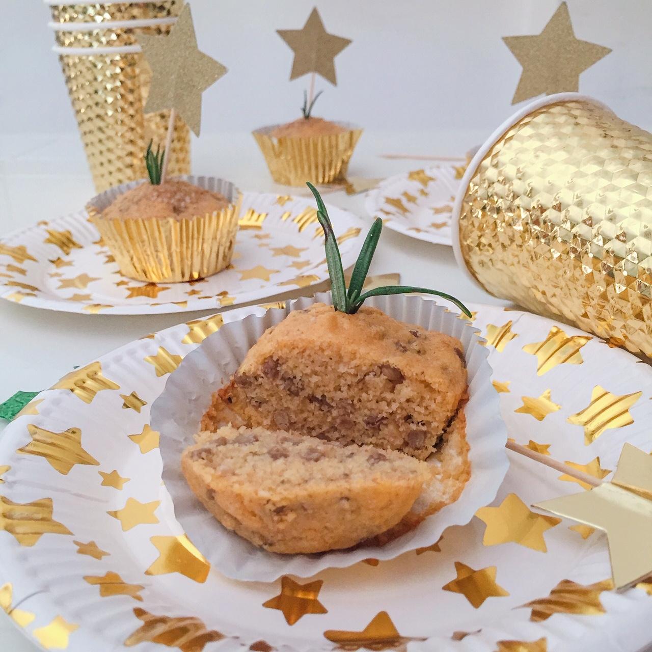 Muffin con farina di mais, lenticchie e rosmarino_interno