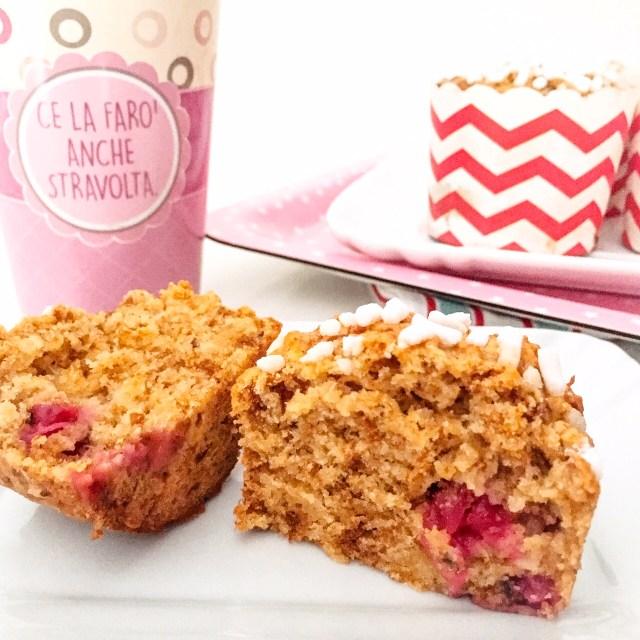 Muffin al panettone con ribes