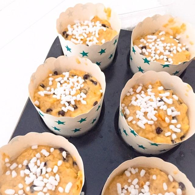 Muffin al panettone da cuocere