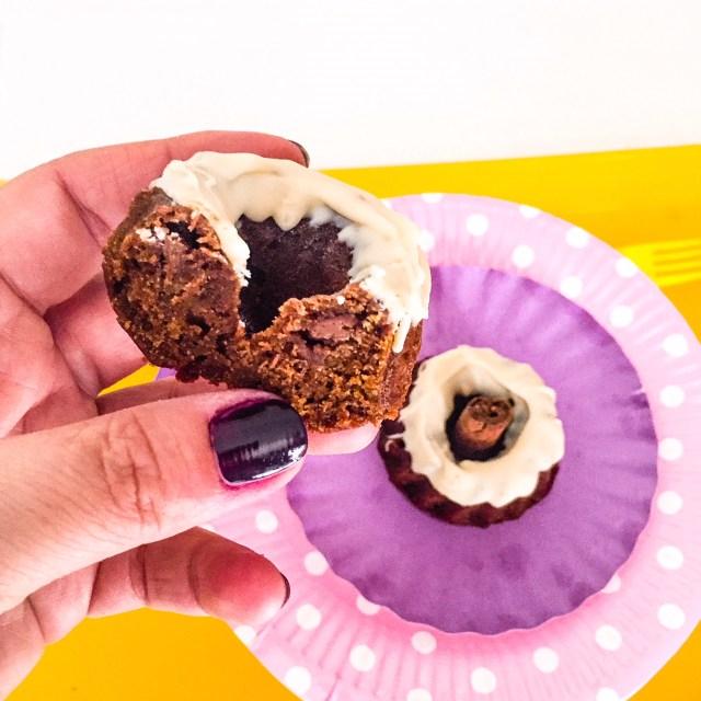 MINI BUNDT CAKE ZUCCA, CACAO E CANNELLA mangiati