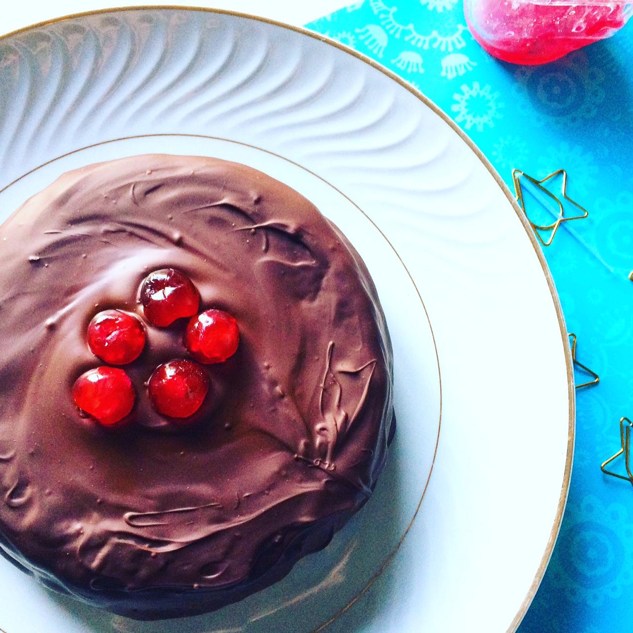 Torta di pandoro, ricotta e cioccolato
