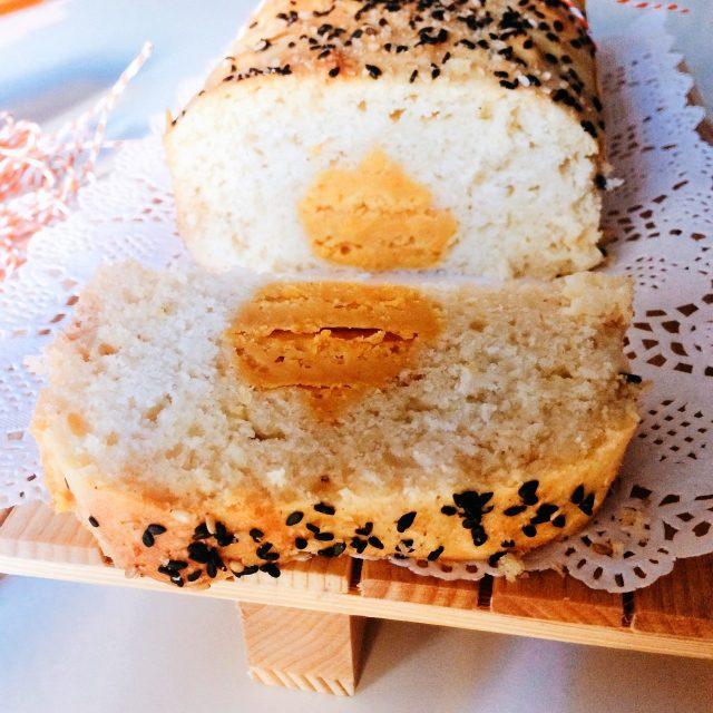 Plumcake cacio&pepe con zucca a sorpresa