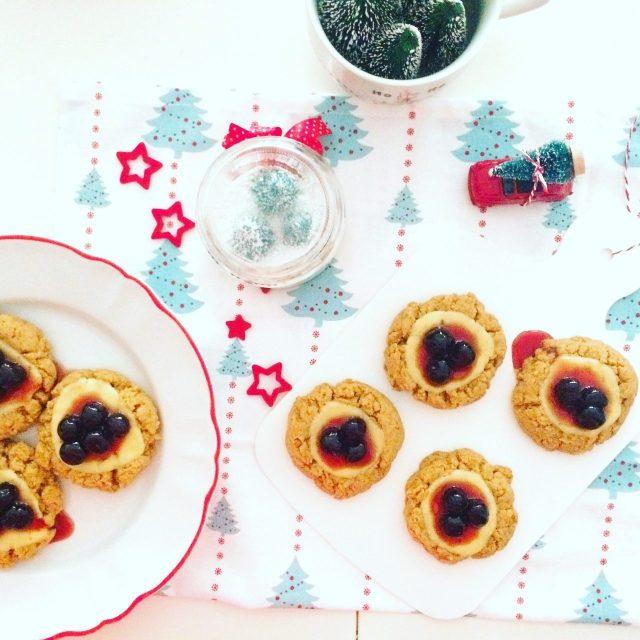 Cheesecookies_mini cheesecake a biscotto_visti dall'alto