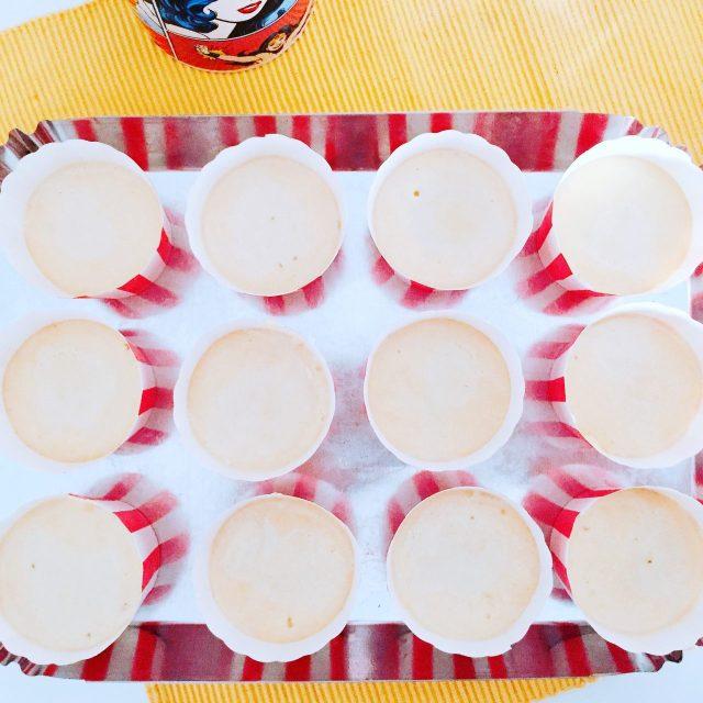 Cupcake pan di limone da infornare