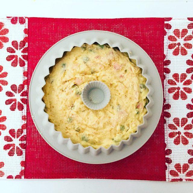 Ciambella 7 vasetti fave, pecorino e prosciutto da cuocere