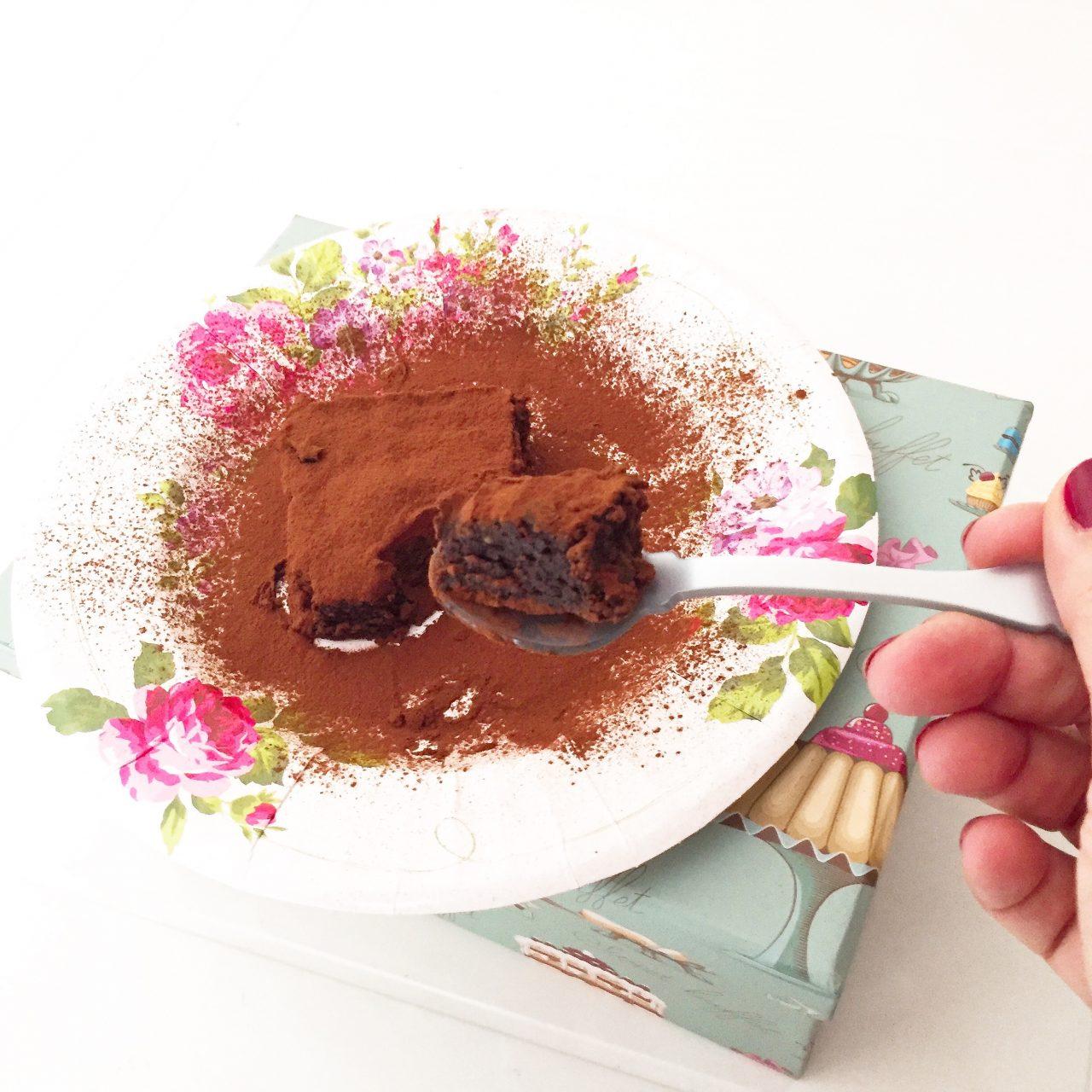Torta Barozzi su cucchiaino