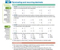 Terminating And Repeating Decimals Worksheet - Kidz Activities