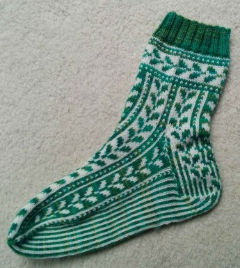 One finished Sock!
