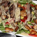 Hot Steak & Crunchy Potato Salad Recipe