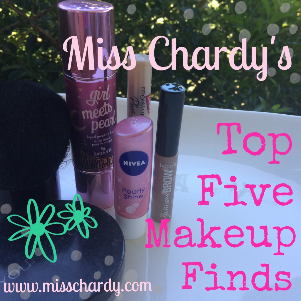 My Top Five Makeup Finds