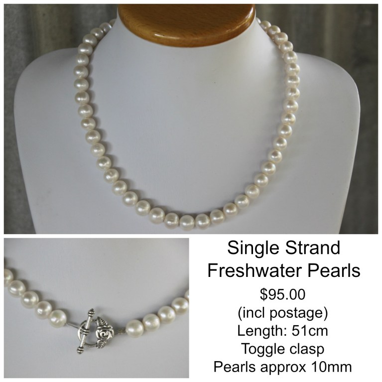 Single Strand FW Pearl Necklace