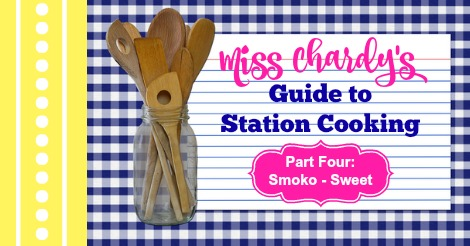 Miss Chardy's Guide to Station Cooking – Part 4 – Sweet Smoko