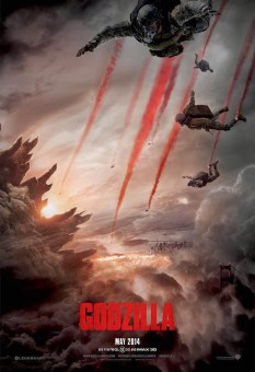 Godzilla 2014 movie poster