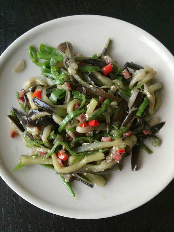 The Eggplant with Minced Pork Meat | Miss Chinese Food