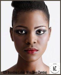 Miss Teen Commonwealth International 2014-15 (ZAMBIA)