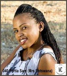 Mrs Commonwealth International International 2014-15 (BOTSWANA)