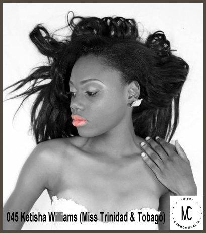 Miss Commonwealth Culture 2014-15 (TRINIDAD & TOBAGO)