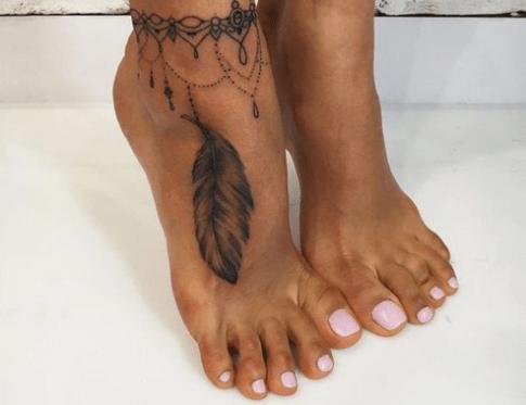 Tatuaje Pulsera Tobillo Miss Coqueta