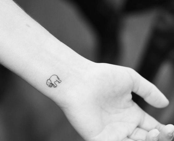 19 Tatuajes De Elefantes Para Mujeres Y Su Significado Miss Coqueta