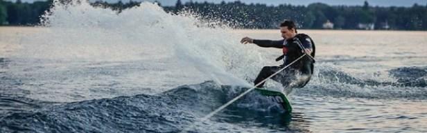 Sport de plage ski