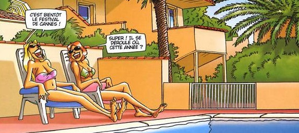 Humour vacances blondes