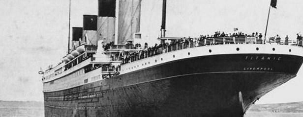 Titanic appareillage