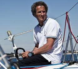 Navigateur français célèbre Michel Desjoyeaux