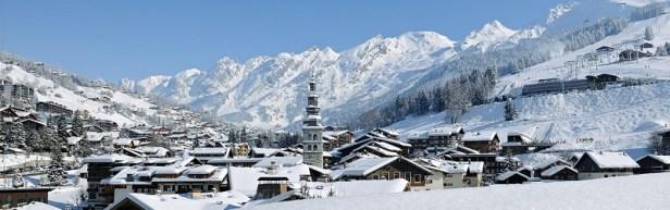 top station de ski la clusaz