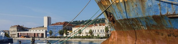 Rio Tagus navire abandonné