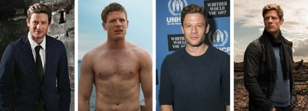 Bel homme roux James Norton