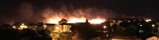 Incendie Hérault 1