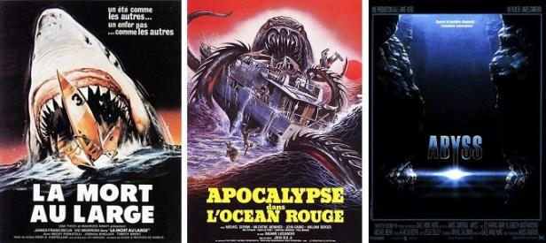 Films d'horreur aquatiques