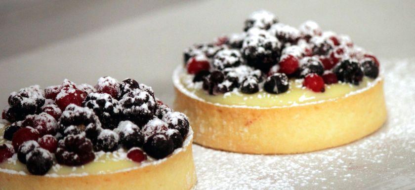 Tortine al lemon curd e Frutti di Bosco 2