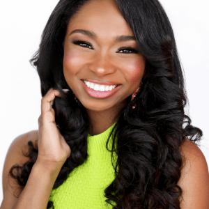 Miss Delaware Teen USA 2021 Sky K.