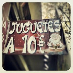 Juguetería anticrisis Madrid