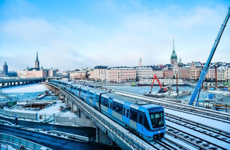 Stockholm Blues und Bahngenuss