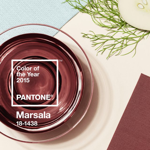 color of the year 2015 - pantone marsala