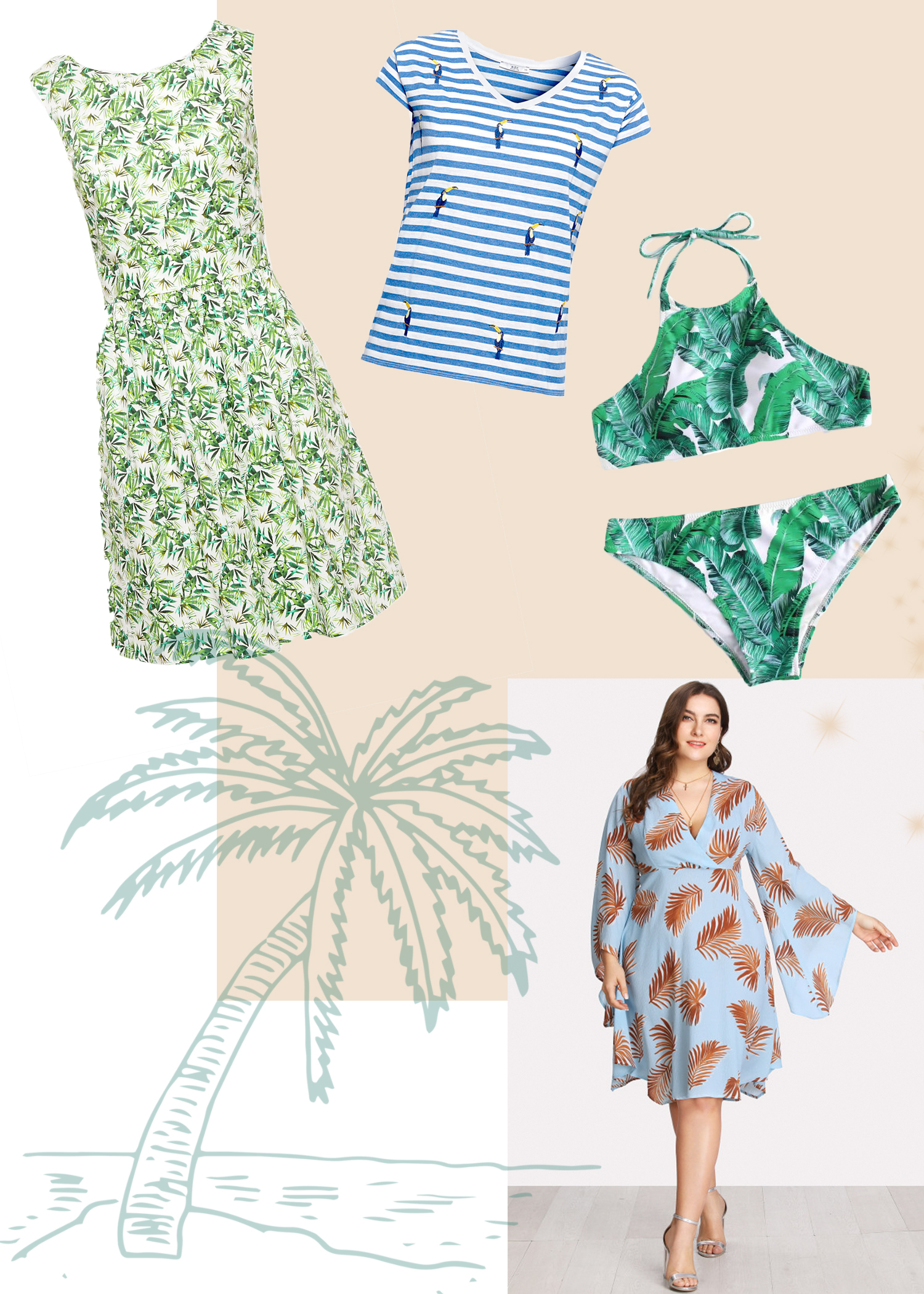 missesviolet-plus-size-summer-fashion-trends-2018-tropical-prints
