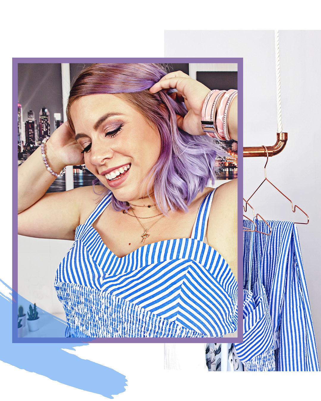 missesviolet-striped-SheIn-2-Teiler