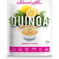 Celebrate Health's quinoa with lemon and thyme