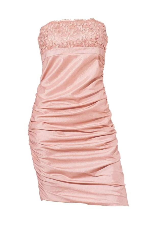 052.588 Cocktailkleid, rosé von Ashley Brooke event Grösse 44